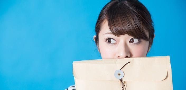 応募書類を企業に送る時の封筒の選び方・書き方の画像