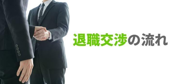 退職交渉の流れを知って円満退職を目指そう!の画像