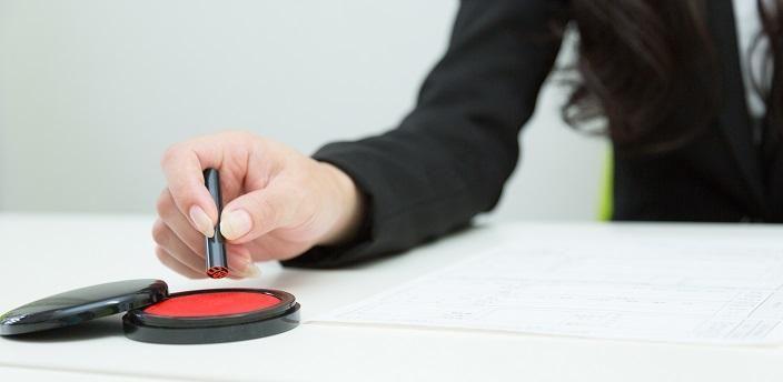 履歴書にハンコは必要?ハンコの選び方と押印のコツとはの画像