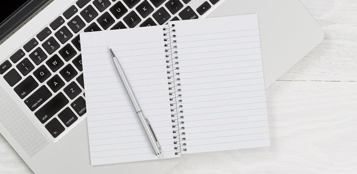 ノートを使った効率の良い企業研究のやり方の画像