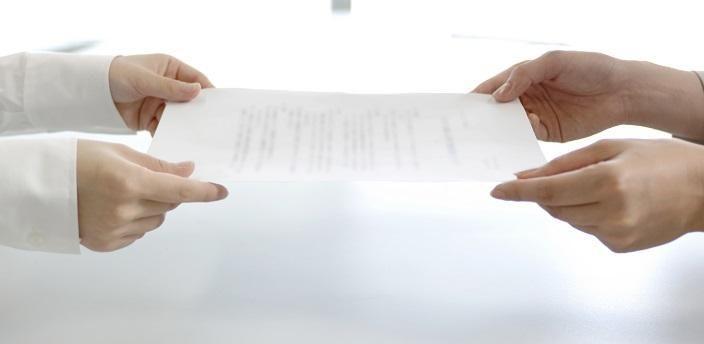 退職の時に、会社からもらう書類と返却するものの画像