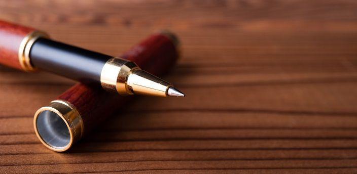 読みやすい履歴書はボールペン選びからの画像